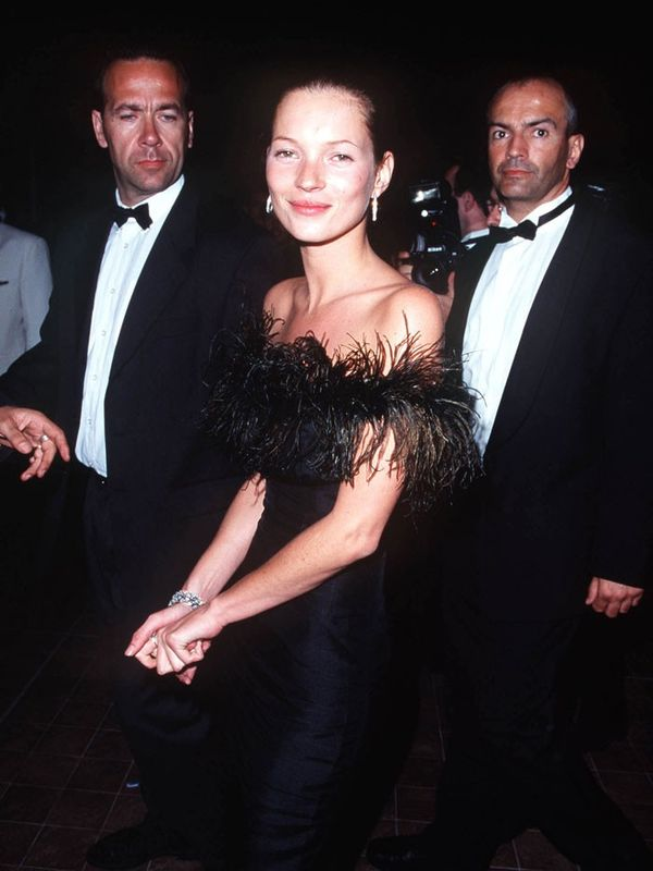 Cannes Film Festival Red Carpet Vintage: Kate Moss in 1999