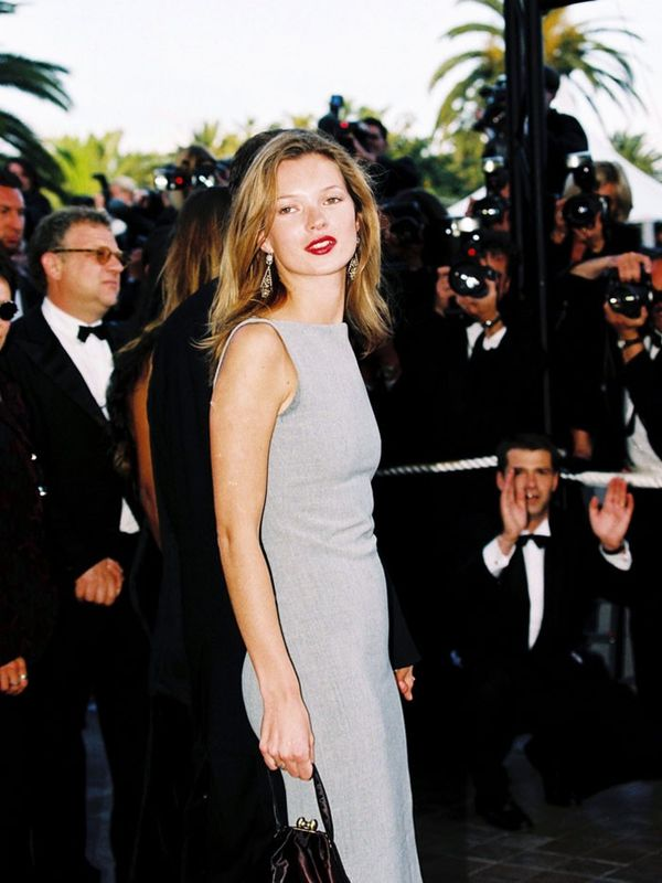 Cannes Film Festival Red Carpet Vintage: Kate Moss in 1998