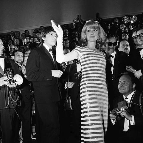 Cannes Film Festival Red Carpet Vintage: Catherine Deneuve
