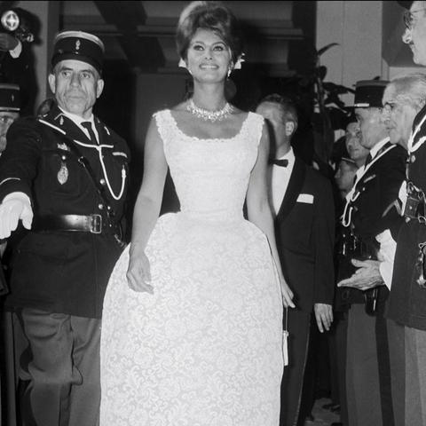 Cannes Film Festival Red Carpet Vintage: Sophia Loren