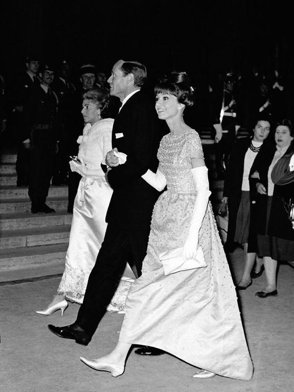 Cannes Film Festival Red Carpet Vintage: Audrey Hepburn