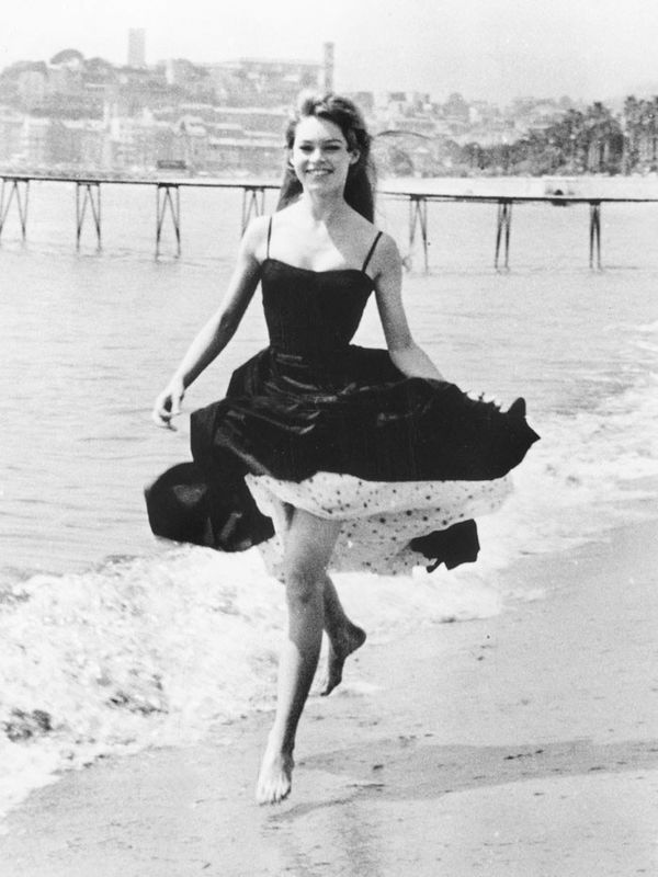 Cannes Film Festival Red Carpet Vintage: Bridgette Bardot