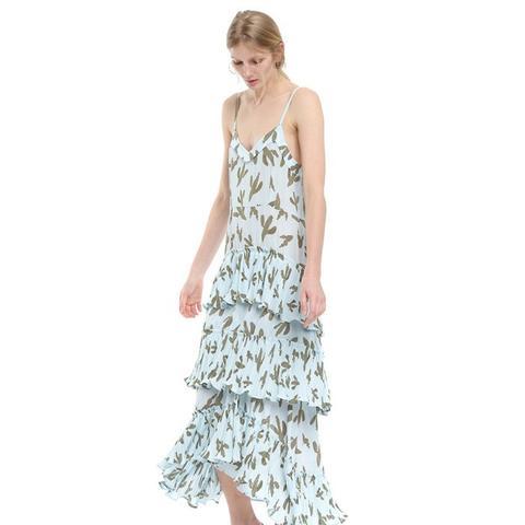 Cactus-Print Dress