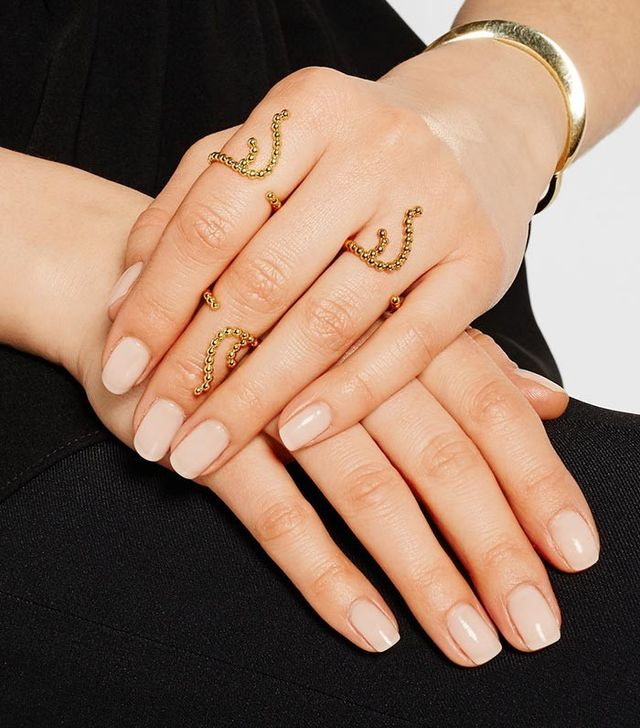 Arme de l'Amour Coral Gold-Plated Ring