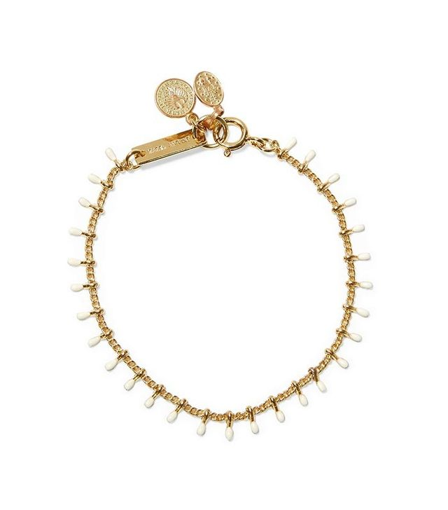 Isabel Marant Casablanca Gold-Tone Resin Bracelet