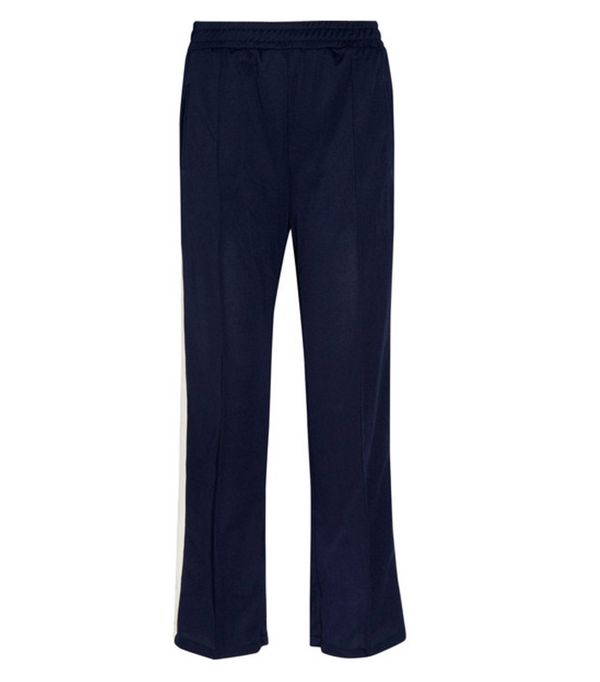 What to Wear Today: Ganni stripe trousers