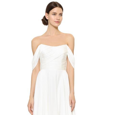 Delphine Off Shoulder Gown