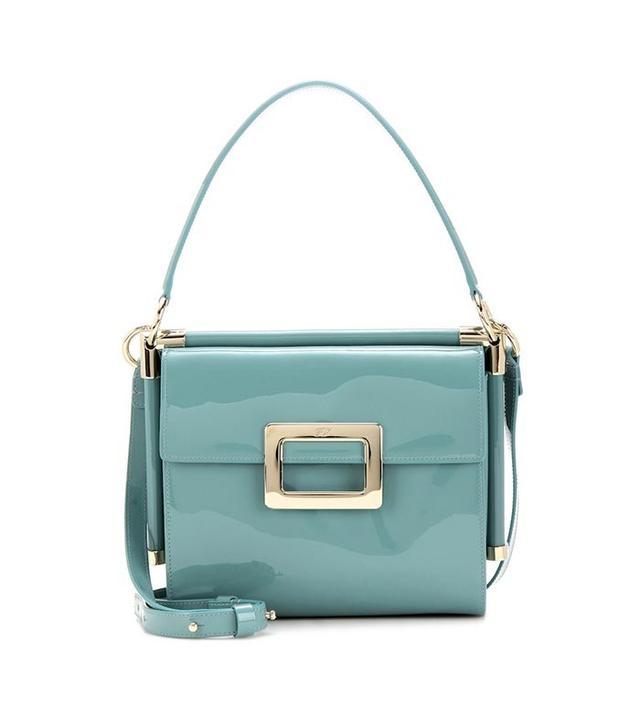 Roger Vivier Miss Viv Small Patent Leather Shoulder Bag
