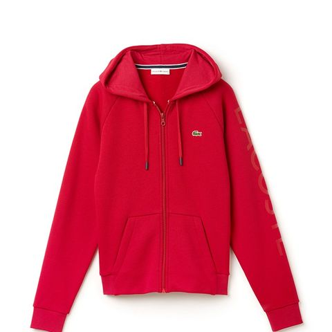 Full Zip Hooded Fleece Sweatshirt