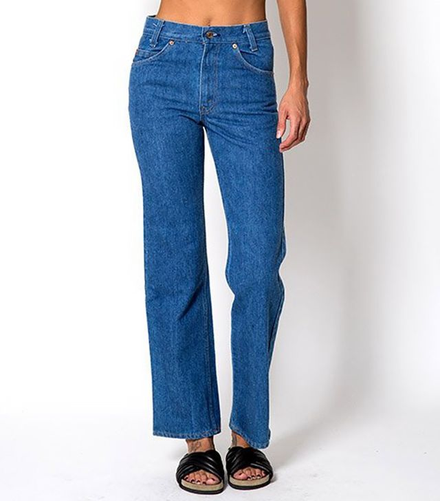 The High Waisted Crop Levi Jeans, Waist 26