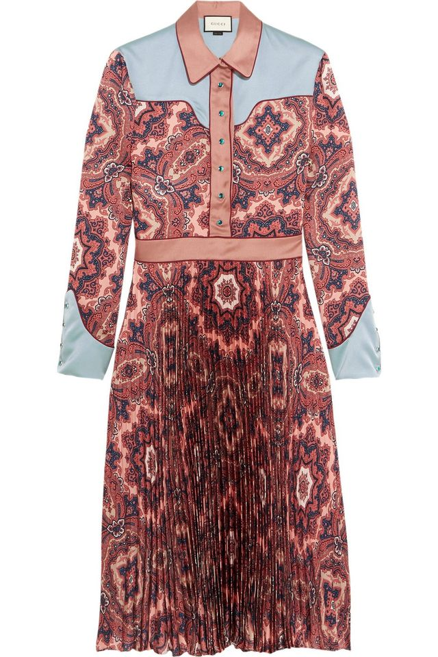 Gucci Paisley-Print Dress