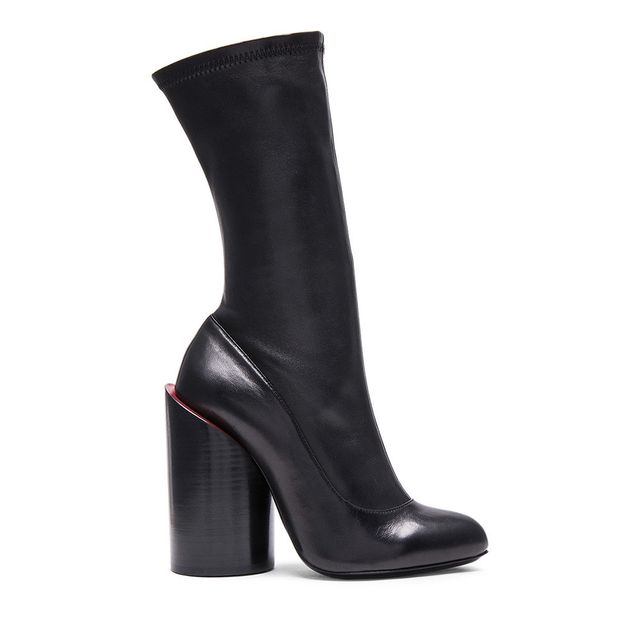 Givenchy Stretch Leather Runway Boots