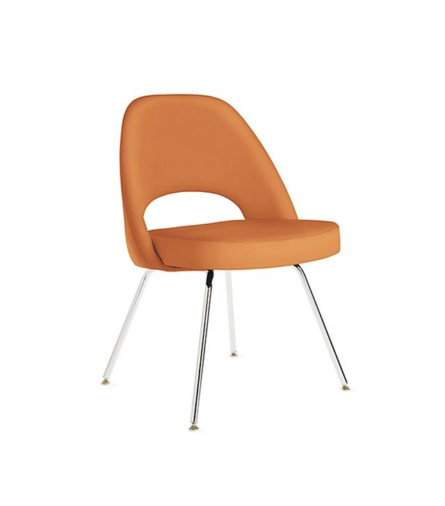 Saarinen for Knoll Executive Side Chair in Leather