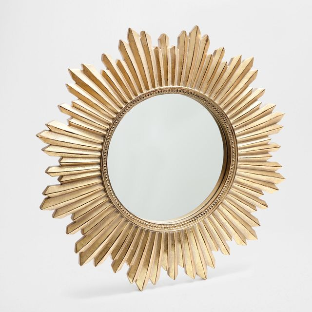 Zara Home Resin Sun Mirror