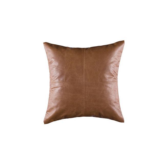 Freedom Leather Cushion 50x50cm in Tan