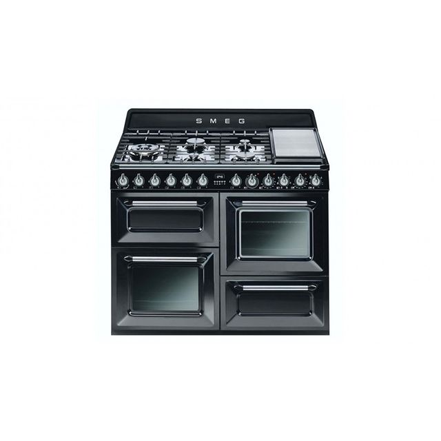 Smeg 110cm Freestanding Cooker - Black