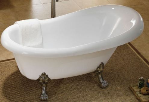 Temple & Webster Lion Claw Foot 1700 Bath Tub
