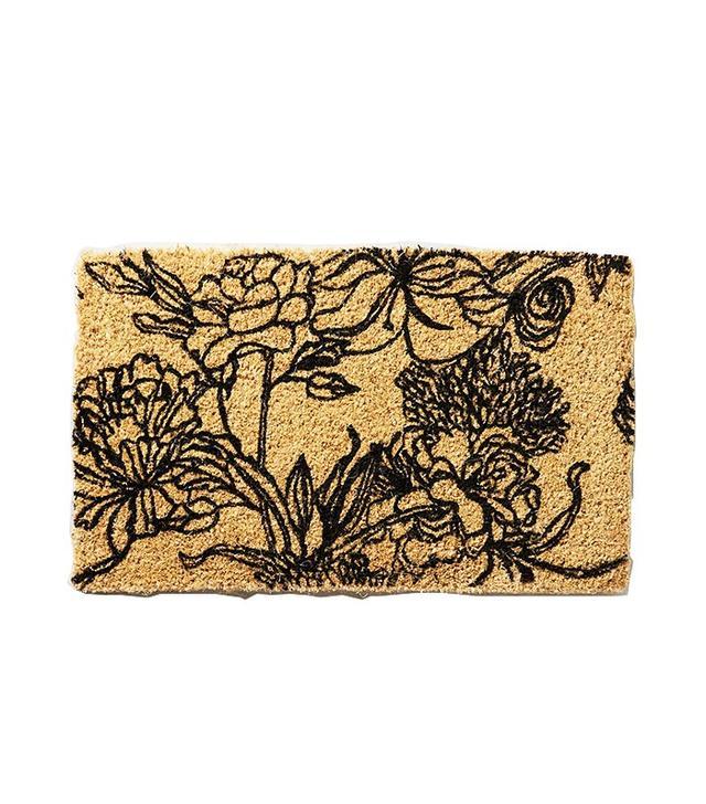 Anthropologie Line Drawing Doormat