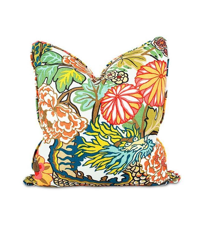 Furbish Studio Chiang Mai Dragon Throw Pillow