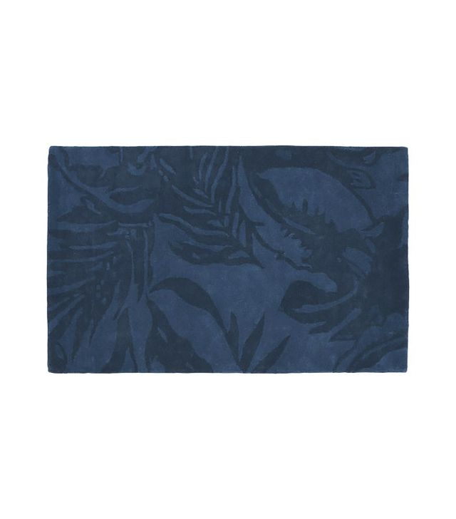 CB2 The Hill-Side Tropical Leaves Rug