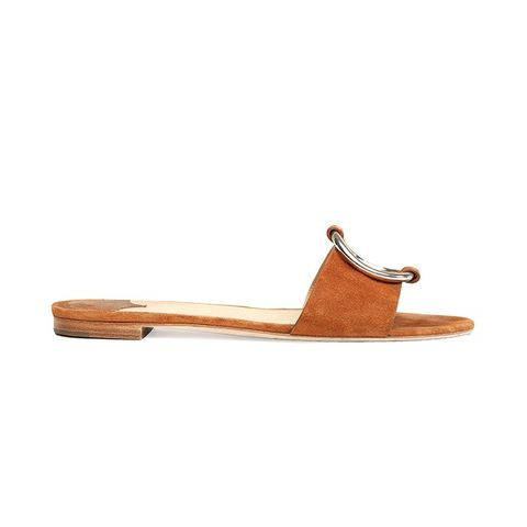 Suede Ring Sandal