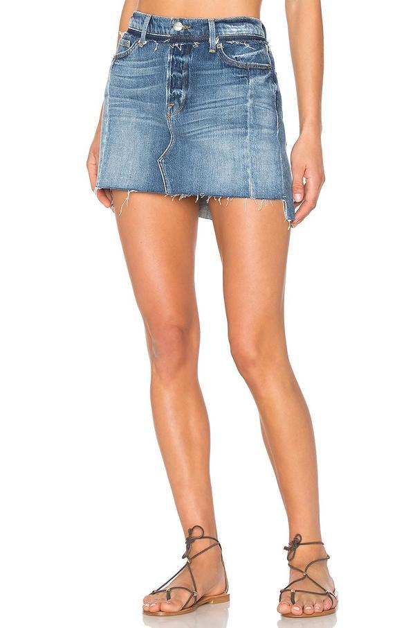 Nouveau Le Mix Mini Skirt
