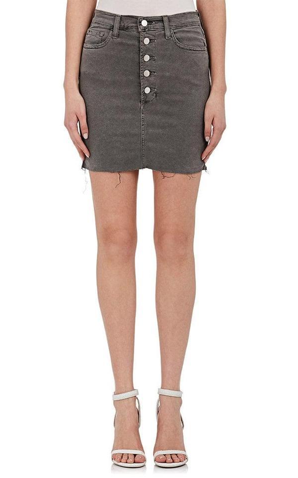 Women's Rosalie Distressed Denim Skirt