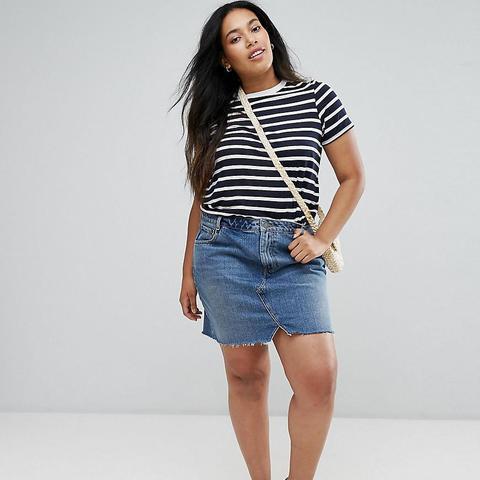 Denim Pelmet Skirt
