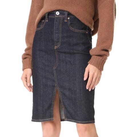 Emery High-Waisted Pencil Skirt