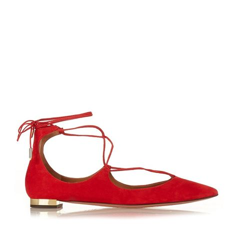 Chirsty Suede Flats