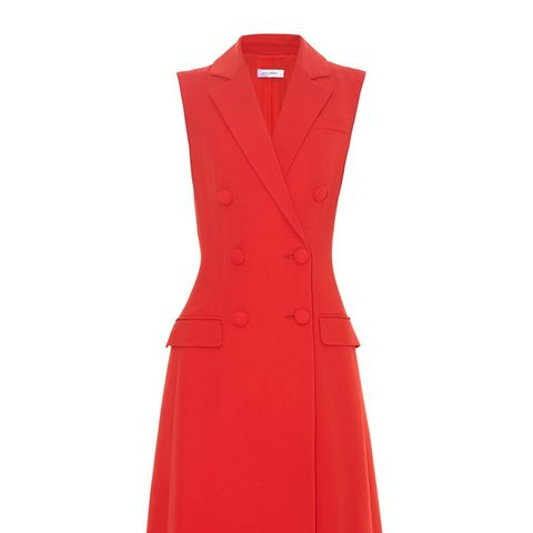 Johns Double-Breated Sleeveless Dress
