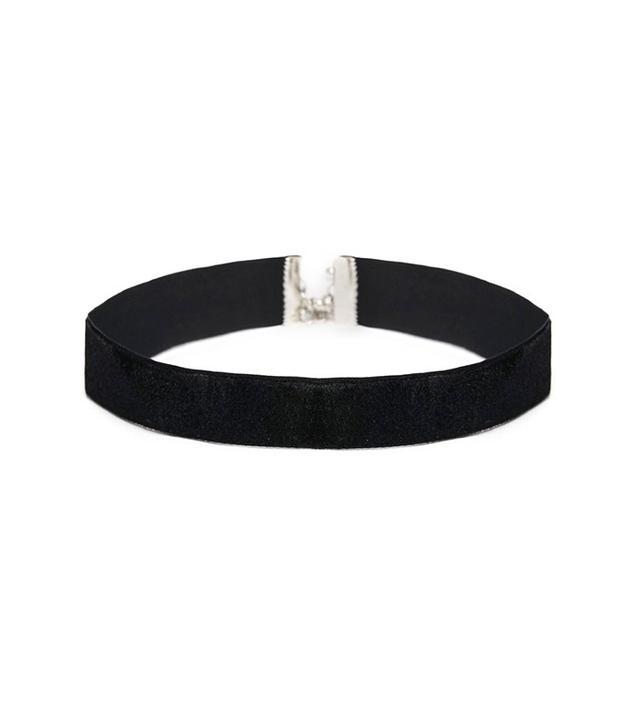 ASOS Basic Velvet Choker Necklace
