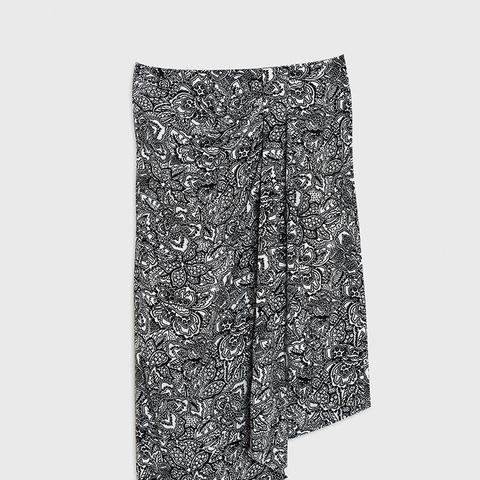 Sarong Midi Skirt