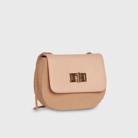 Tonal Saddle Bag