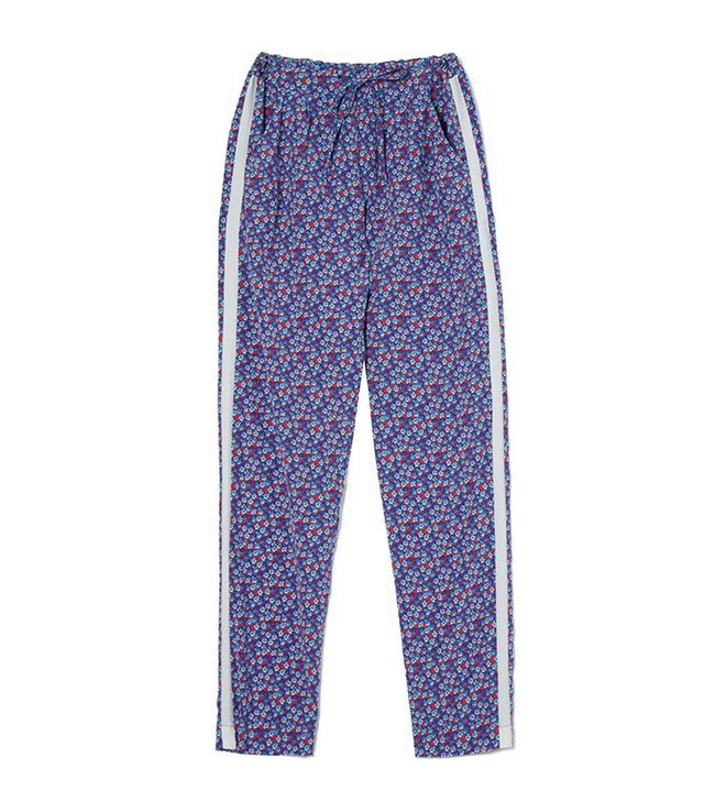 Yolke Violet Silk Lounge Pants
