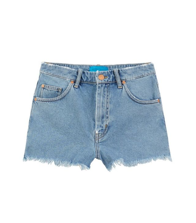 M.i.h Jeans Halsy Cut-Off Denim Shorts