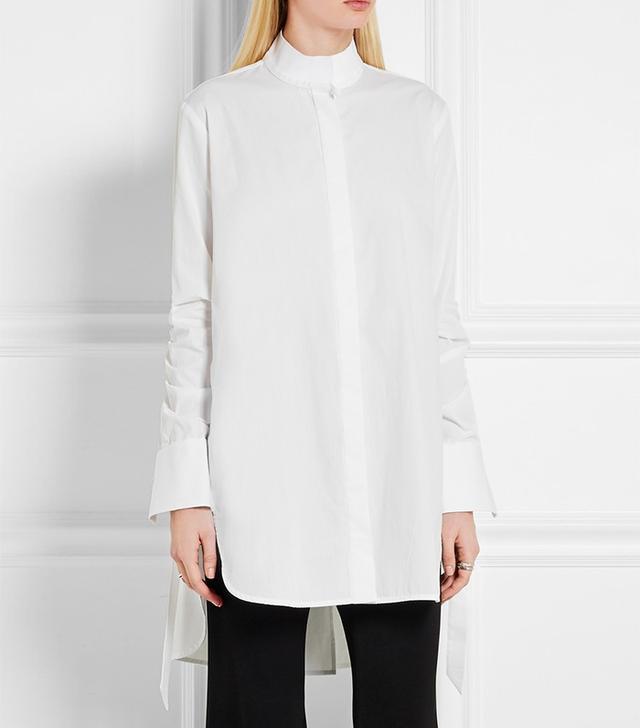 Ellery Sierra Oversized Cotton-Poplini Shirt
