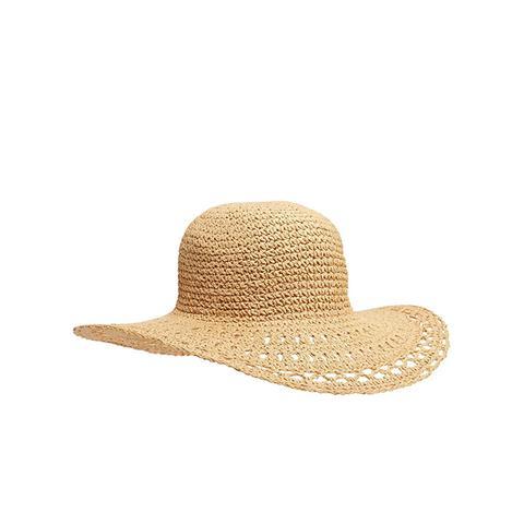 Slouchy Straw Sun Hat