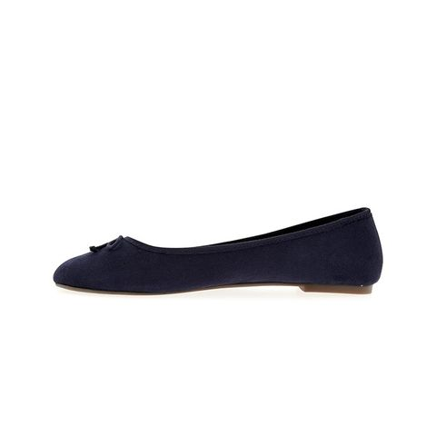 Sueded Classic Ballet Flat