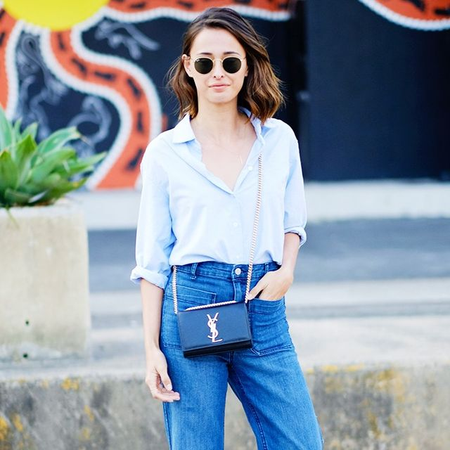 The #1 Most Photogenic Jean Style, According to a Celeb Stylist