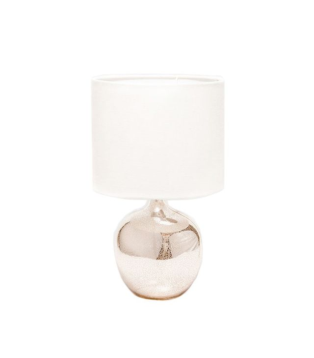 Zara Home Metallic Glass Lamp