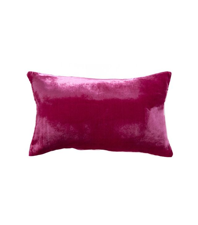 Zara Home Lilac Velvet-Effect Pillow