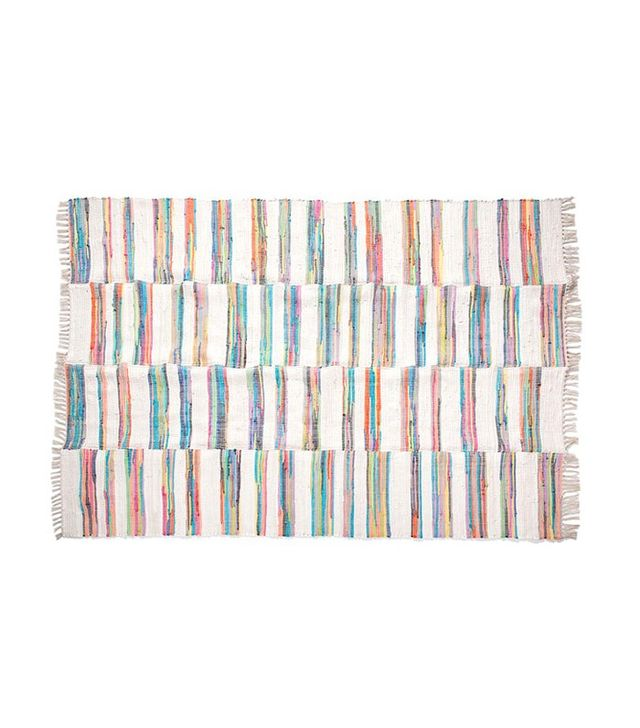 Zara Home Dyed-Thread Patchwork Rug