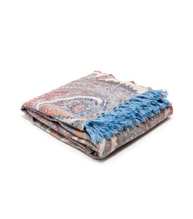 Zara Home Paisley Wool Throw