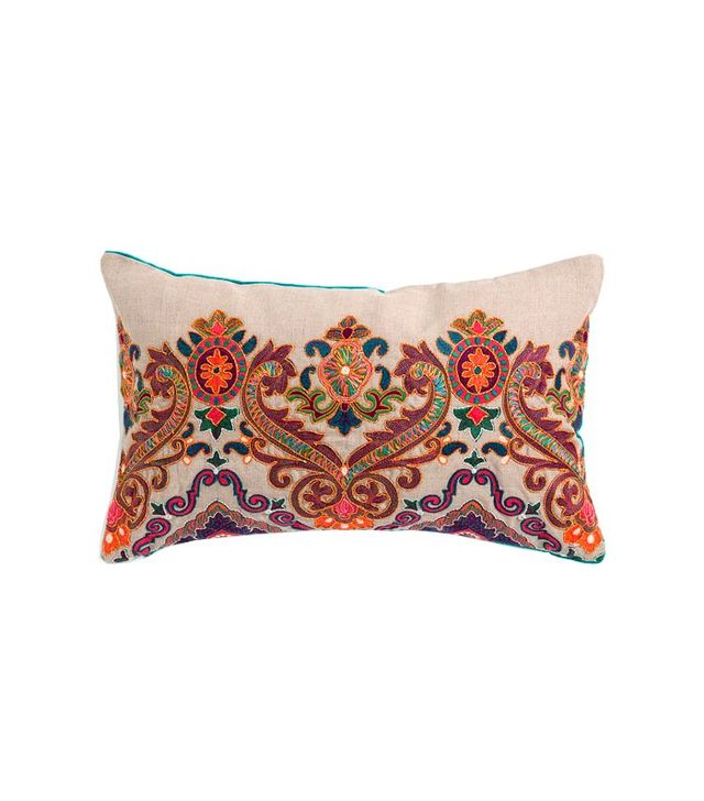 Zara Home Embroidered Cushion