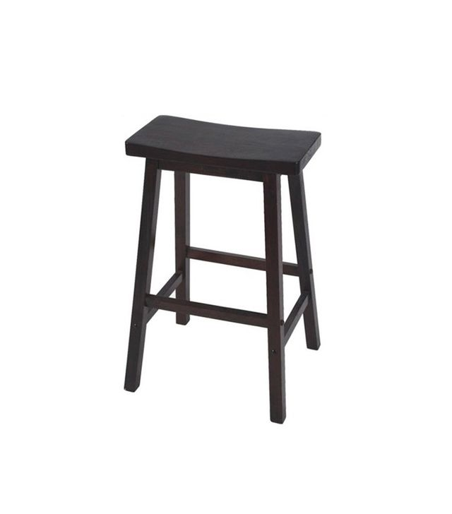 Samarai Solid Rubberwood Timber Stool