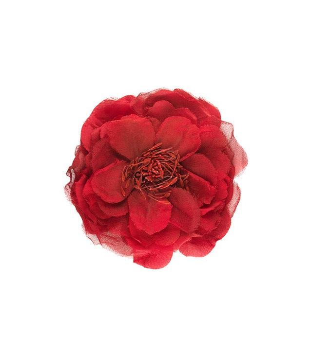Gucci Flower Pin in Silk