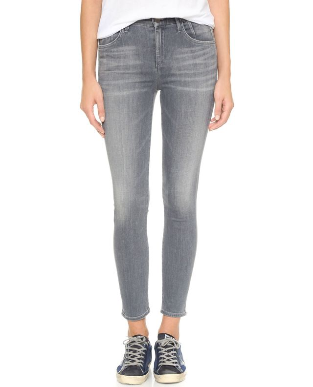 Goldsign Virtual High Rise Skinny Crop Jeans