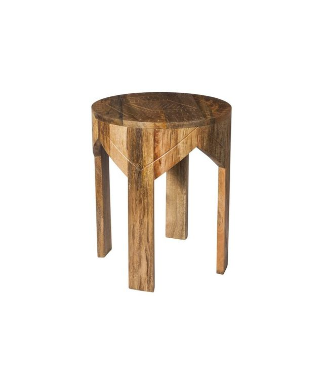Nate Berkus for Target Wooden Etched Round Table