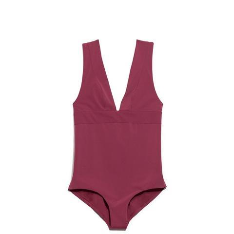 V-Neck Swimsuit